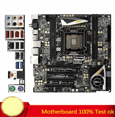 AU379.87 • Buy FOR ASRock Motherboard X79 Extreme4-M Mainboard LGA2011 DDR3 ATX TESTED