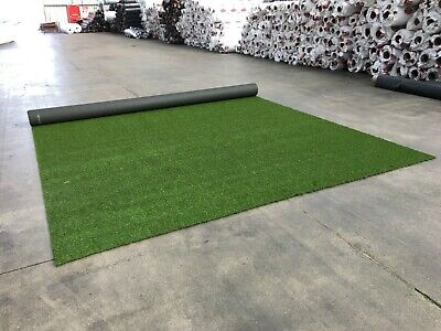 £57.75 • Buy Cheap Artificial Fake Grass Clearance Roll End Remnant 29mm Off Cuts Astro Turf.