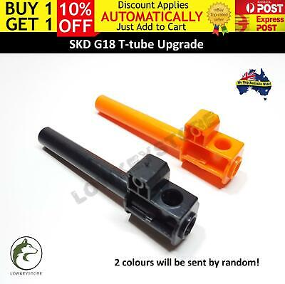 AU18.81 • Buy Upgrade T-tube For SKD G18 Gel Blaster Toy Glock 18 GLK Toy Parts Accessories