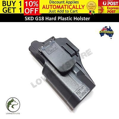 AU23.99 • Buy Plastic Holster For SKD G18 Gel Blaster Toy Toy Glock 18 Upgrade Accessories