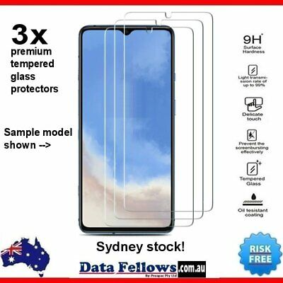 AU5.89 • Buy Xiaomi Redmi Note 7 Pro Tempered Glass Screen Protector LCD Film 9H Clear
