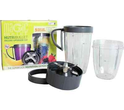 AU26.99 • Buy NutriBullet Deluxe Upgrade Kit Cup And Blade Replacement 5pcs Set AU