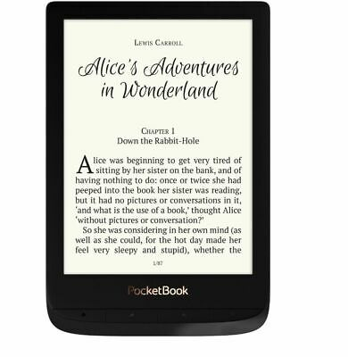 $189.90 • Buy PocketBook PB627 Touch Lux 4 Black 6  E-ink E-Book Screen Reader WiFi 8GB Memory