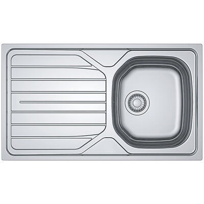 Franke Reno  Stainless Steel Inset Sink  1 Bowl 860 X 500mm  • 49.99£