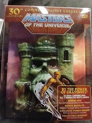 $349 • Buy Masters Of The Universe: 30th Anniversary Commemorative Collection (DVD, 2012, …