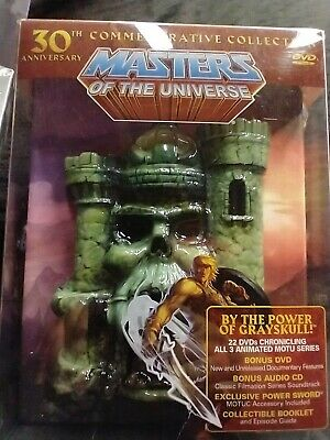$399 • Buy Masters Of The Universe: 30th Anniversary Commemorative Collection (DVD, 2012, …
