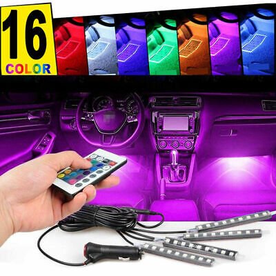 $13.65 • Buy 36 LED Car Charge Interior Accessories Floor Decorative Atmosphere Lamp Light