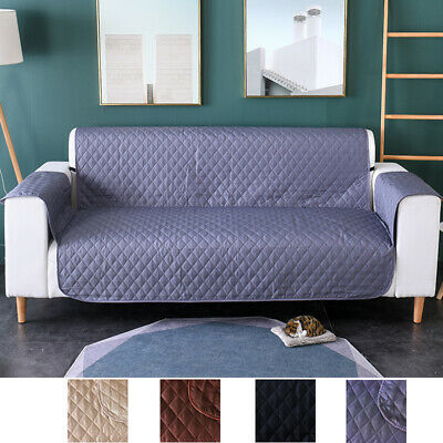 AU25 • Buy Sofa Cover Quilted Couch Cover Lounge Protector Slipcovers 1/2/3 Seater Pet Dog
