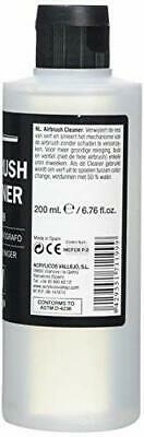 Airbrush Cleaner 200ml Vallejo Acrylic Paint Waterbased Model Air Non-Toxic NEW • 10.19£