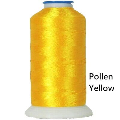 $7.69 • Buy Machine Embroidery Thread Polyester YELLOWS 1000M