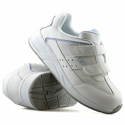 Ladies Womens Dr Scholls Leather Wide Fit Casual Walking Gym Trainers Shoes Size • 16.98£