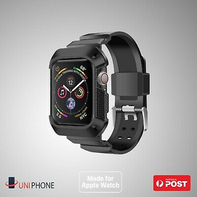 AU13.99 • Buy 【Shockproof】For Apple Watch Band Strap Case 38 42 40 44 Series 1 2 3 4 5 6 SE