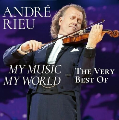 Andre Rieu - My Music My World - The Very Best Of - New 2CD Released 20/09/2019 • 12.48£
