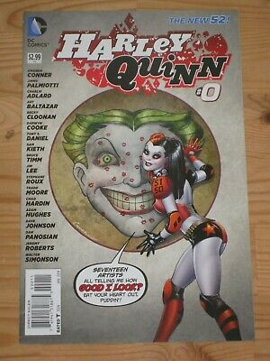 $ CDN14.39 • Buy Harley Quinn #0 (2013) DC New 52 First Print - Jimmy Palmiotti, Amanda Conner NM