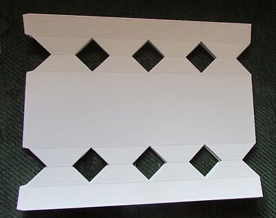 6 Make Your Own Blank Cracker  Templates Sweet Party Wedding Gift Boxes • 2.50£