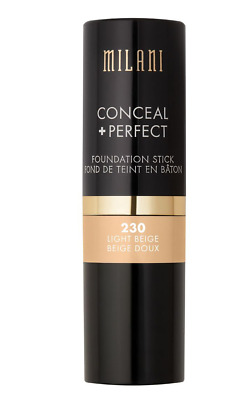 Milani Conceal + Perfect Foundation Stick - 230 Light Beige • 14.99£