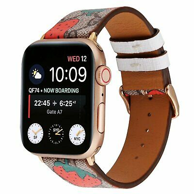 $ CDN19.58 • Buy Luxury Leather Strap IWatch Band For Apple Watch Series 5/4/3/2 38/40MM 42/44MM