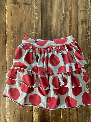 Girl's Polka Dot  Persnickety Skirt In Child Size 5 • 12.87£