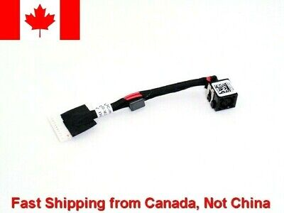 $ CDN7.48 • Buy R085W Dell Alienware M17x 17 R1 R5 New DC Power Jack Charging Cable DC30100NF00