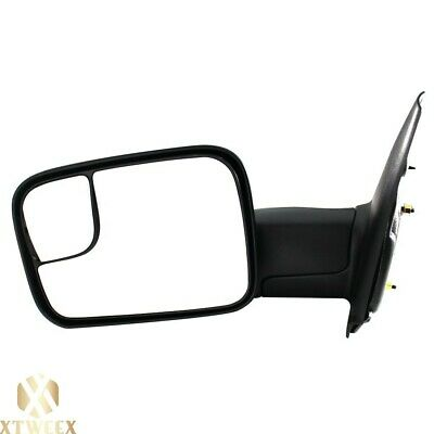 $73.05 • Buy Left Driver Side Manual Towing Mirror For 02-08 Dodge Ram 1500 03-09 2500 3500