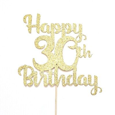 30th Birthday Cake Topper Party Decorations Bunting Anniversary 10 25 40 50 60 • 9.99£