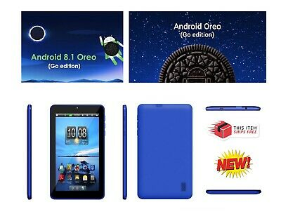 AU49.49 • Buy Vizmo Blue 7  Tablet 16Gb, WiFi, Google, W/ Android 8.1 GO Tablet PC - NEW