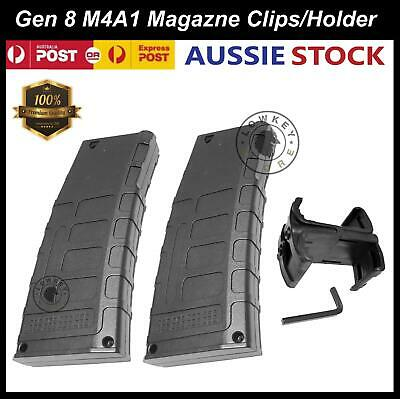 AU42.99 • Buy Gen 8 M4A1 Magazine Clip Double Mag Holder Gel Ball Blaster Replacement Parts