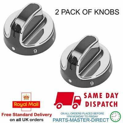 Fits Stoves New World Oven Cooker Hob Knob 083157010 Pack Of 2 Knobs • 17.99£