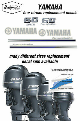 AU79 • Buy YAMAHA  60HP  Four Stroke 2013 Outboard Decals