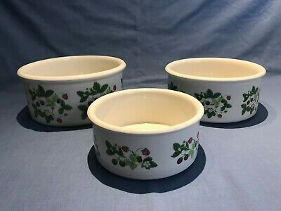 £10 • Buy Portmeirion SUMMER STRAWBERRIES - Serving, Vegetable Or Souffle Dishes Bowls