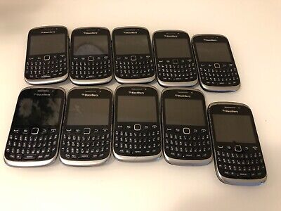 $ CDN300 • Buy LOT OF 10 BlackBerry Curve 9320 - Black (Unlocked) Smartphone