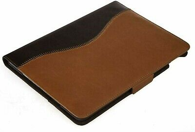 $39.97 • Buy Bear Motion Case For IPad Air 2 Genuine Brown Leather Folio With Built In Stand