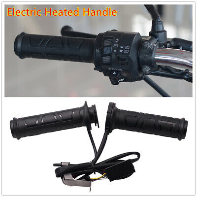 $17.97 • Buy Modified Motorcycle Heating Grips Winter Electrical Handlebar Heating Handle Set