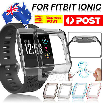 AU4.95 • Buy Fitbit Ionic TPU Cover Case Anti-Explosion Smart Watch Cover Protective New