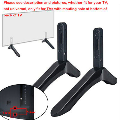 32-65 Inch Adjustable Universal TV Stand Table Top Mount Base Flat LCD Screen • 15.36$