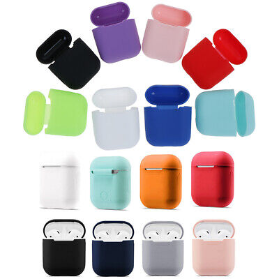 $ CDN6.95 • Buy 1Pc Silicone Airpods Case Protect Cover Skin Earphone Charger FGABLYC