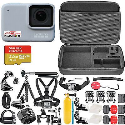 $ CDN285.46 • Buy GoPro HERO7 White Waterproof Action Camera Touch Screen + Shockproof Carry Case