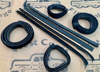 AU254.90 • Buy 74-80 Ford F100 Parts F100 Front Door Weather Strip + Bailey Channel Rubber Kit