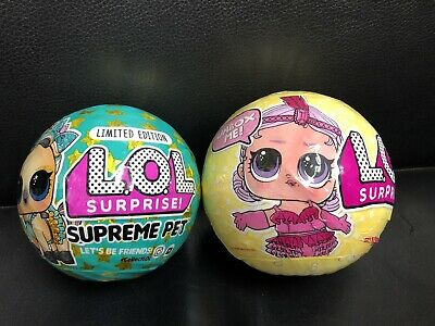 $ CDN37.43 • Buy Lol Surprise Supreme Pet-Lucky Luxe Pony & Series 3 Tots Dolls~ Set Of-2. * RARE