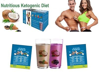 £2.25 • Buy Ketogenic Diet Quick Ketosis Weight Loss Shake Fat Burn Vlcd Meal Replacement