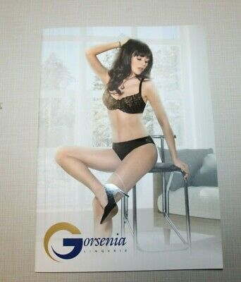 Gorsenia Sexy LINGERIE FASHION CATALOG CATALOGUE Bra Underwear Book  • 1.99$