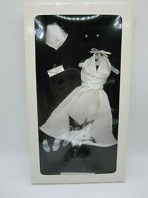 Marilyn Monroe Portrait Doll Seven Year Itch Franklin Mint Outfit White Dress • 34.75£
