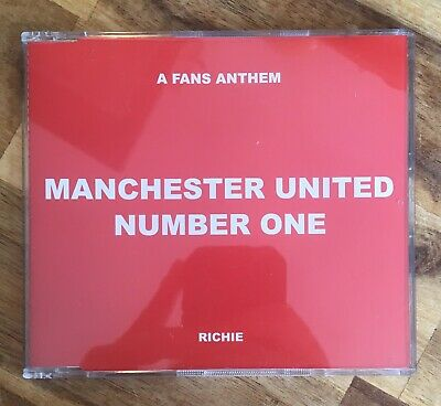 Manchester United - Number One (a Fans Anthem) Cd Single *promo Copy* • 7.50£