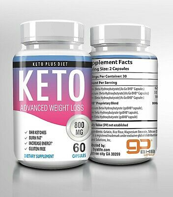 $16.99 • Buy ☀ Best Keto Diet Pills 800mg Burn Fat- Advanced Ketosis Weight Loss 60 Capsules