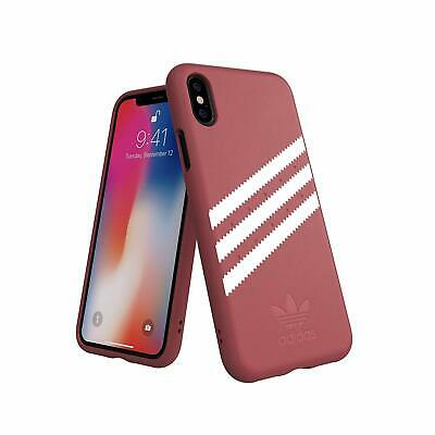 AU13.11 • Buy Adidas 3 Stripes Snap Case For IPhone X / XS - Maroon 5.8 Faux Leather Apple New