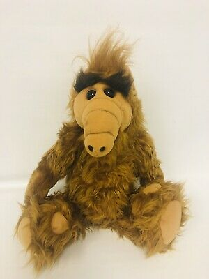 """Vintage ALF 1986 Coleco Alien Productions 18"""" Plush Stuffed Animal Toy Doll • 28.50$"""