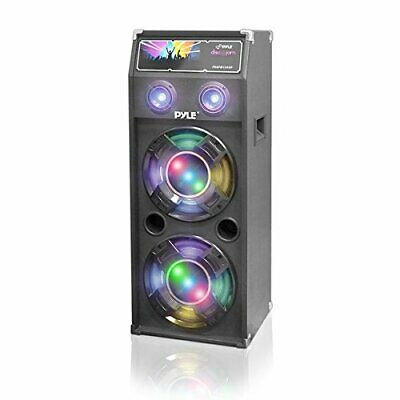 $149.95 • Buy New Pyle 1000 Watt Bluetooth 10  Subwoofers Speaker System Equalizer LED Lights