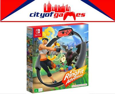 AU129.95 • Buy Ring Fit Adventure Nintendo Switch Game Brand New In Stock
