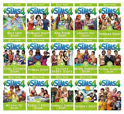 AU13.30 • Buy The Sims 4 Expansions Stuff Packs Origin Game Key (PC/MAC) - Region Free - No CD