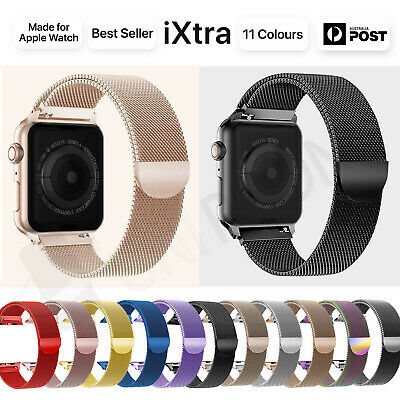 AU6.88 • Buy 【Apple Watch】Series 5 4 3 2 1 Milanese Magnetic Stainless Loop Strap Band Iwatch